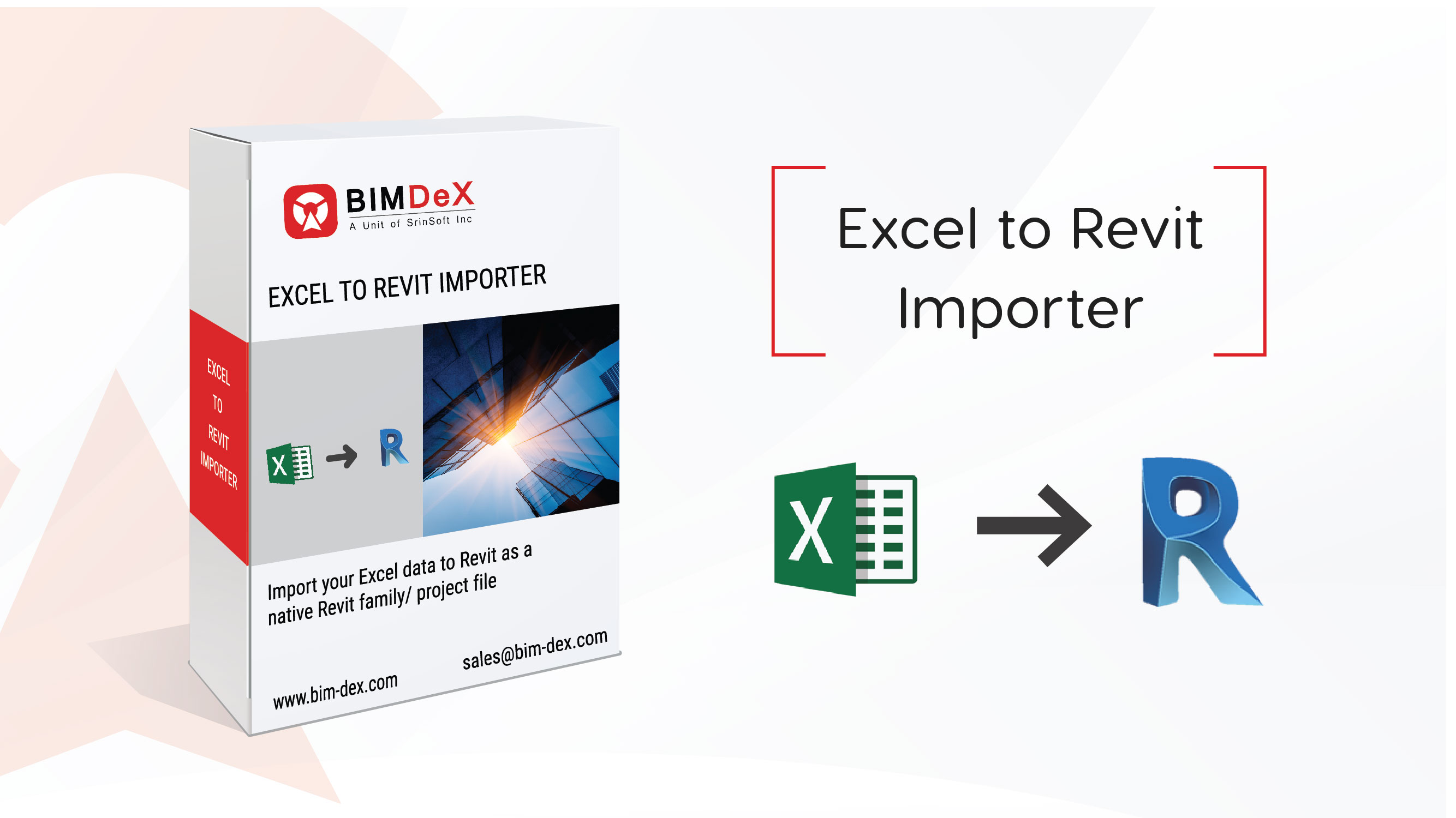 Excel to Revit plug-in | importer, add-on