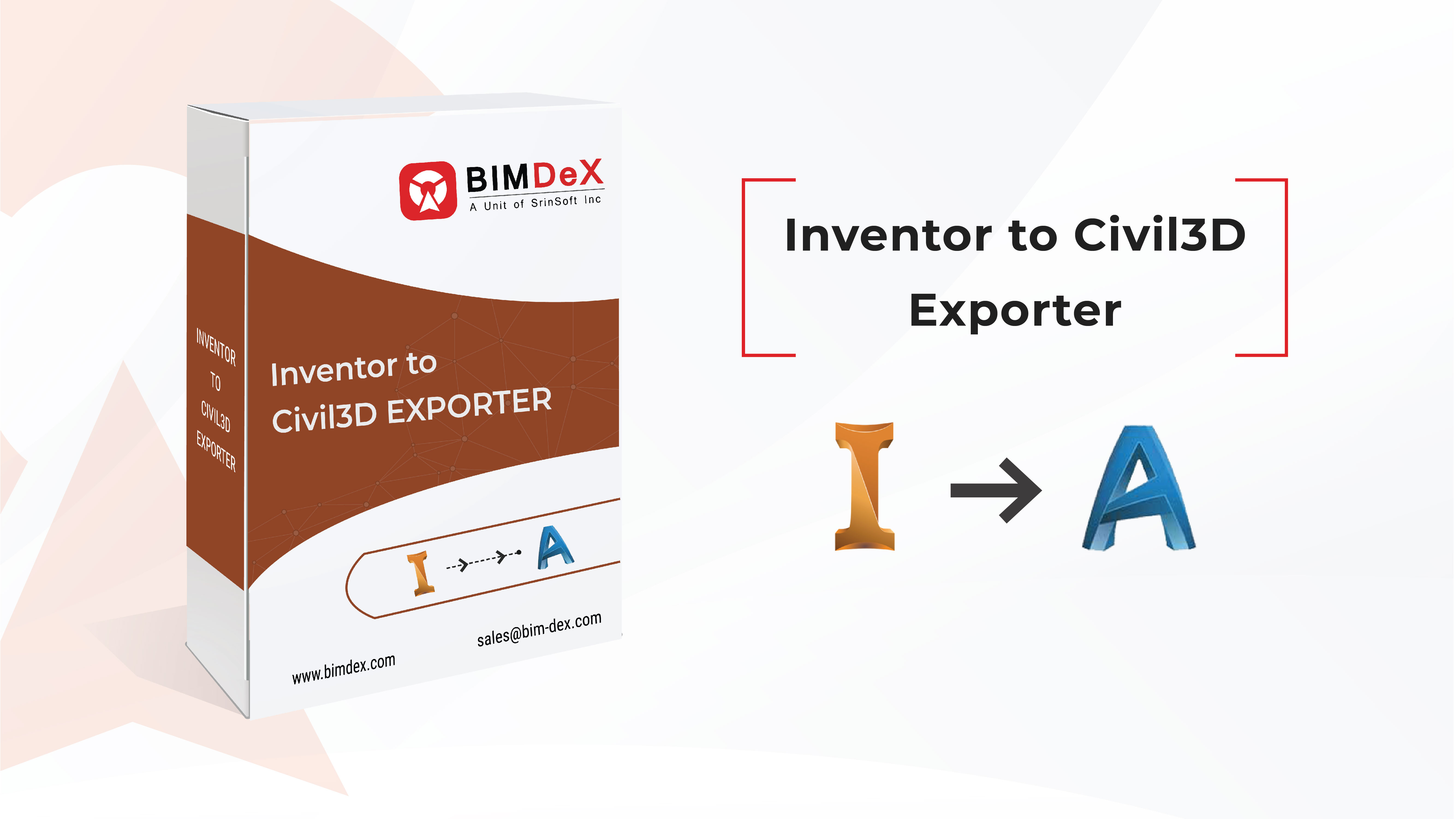 Inventor to civil3d